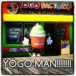 YoGo Factory Mascot
