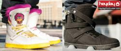 2 of Heyday Footwear's Spring 2013 styles, the Fraggle Rock Super Shift and Super Shift Ninja