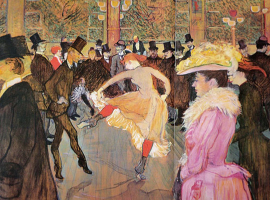 Toulouse lautrec and the moulin rouge a stunning new app for Toulouse lautrec works