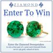 Lab Created Man Made Emerald Stud Earrings Sweepstakes Giveaway by...