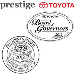 Prestige Toyota Awards
