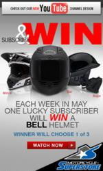 Motorcycle Superstore YouTube Bell Helmet Giveaway