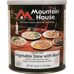 Mountain House Vegetable Stew with Beef