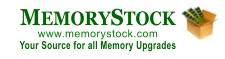 MemoryStock Memory Upgrades