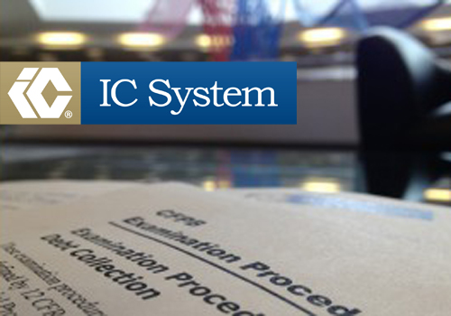 I C System Inc Completes Third Party Cfpb Readiness