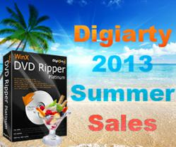 Digiarty 2013 Summer Sales 1st Round