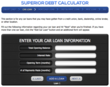Superior Debt Relief Services Creates Online Debt Calculator