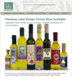 The Olive Oil Source Launches New Premium Label Design Service
