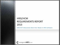 HRIS Research Report