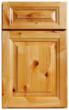 A rustic Alder door style is a new look for the Armstrong Cabinet Products line, with natural character featuring pinholes and knots.