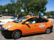 Yellow Checker Cab, Yellow Cab Show Support for Sharks' Playoff Run...