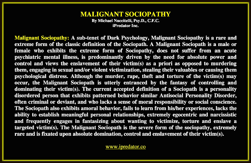 Narcissistic sociopath definition and traits