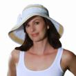 Forget me knot bucket sun protection hat