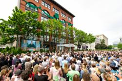 In ceremonies attended by more than 2,500 Scientologists and their guests from across the U.S., the Church of Scientology Portland was dedicated on Saturday, May 11, 2013.