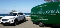 Hyundai Santa Fe teams up with Williams-Sonoma
