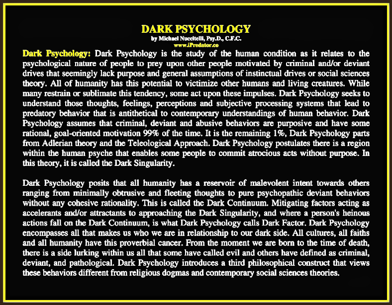 The Cleveland Kidnappings, Dark Psychology & Malignant Sociopathy
