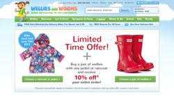 Wellies And Worms 10% Sale Promotion