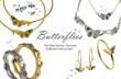 Jana Reinhardt Spring Summer 2013 Butterflies Jewellery Collection
