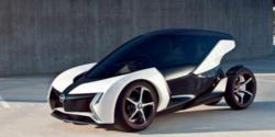 Opel RAK e electric concept car debuted at 2011 Frankfurt Motor Show