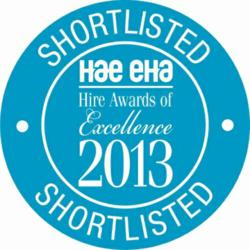 Tool Hire Company, PAL Hire, Shortlisted for HAE Company Of The Year