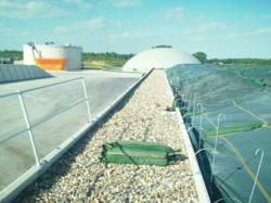 silage clamp handrail