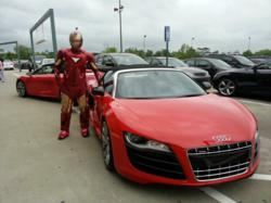 Audi and Iron Man