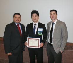 James Instruments Student Award Winner