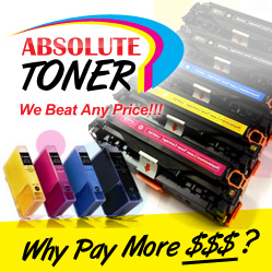 When it comes to replacing your toner and inks in Canada, come to Absolute Toner where you will find the best deal online.