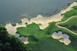 Two Rivers Country Club, a private golf course in Williamsburg, Virginia