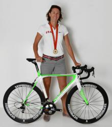 Lindsay Shoop Eight Olimpic Gold Medalist with Her Stradalli Verona