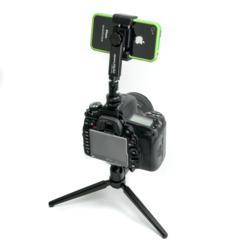 New, Easy and Inexpensive Way to Attach a Smartphone to your DSLR using Square Jellyfish Phone and Camera Accessories