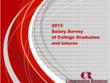 Compensation Resources, Inc. Releases Its 2013 Salary Survey of...