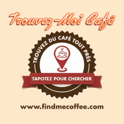 The Find Me Coffee App, now available in French!
