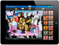 piZap, a popular photo editing and collage app just released it's first iPad app!
