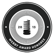 Spherexx.com Webby Honoree