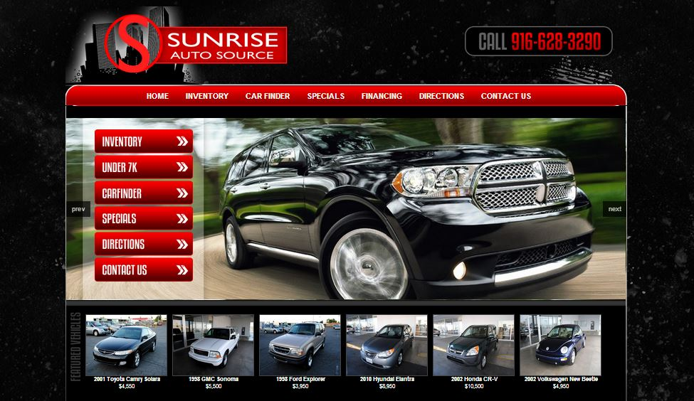 Announces New Dealer Sunrise Auto Source