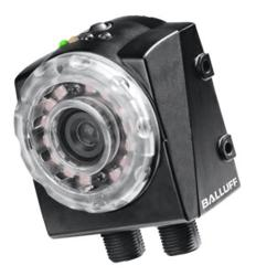 Balluff's BVS vision sensor with built-in infrared lighting and integrated daylight filter
