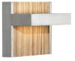 LBL Lighting's new Ashland wall sconce with the optional Zebra insert.