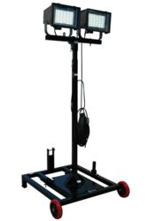 300 Watt Dual Head LED Light Tower for Hazardous Locations