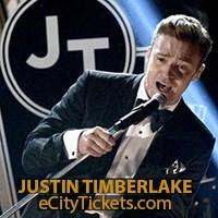 Justin Timberlake Tour Tickets