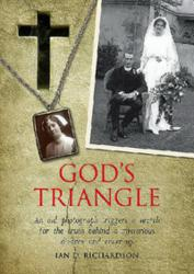This is the cover of the book, God's Triangle.