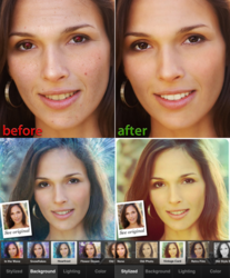 Visage Lab (before&after, effects)