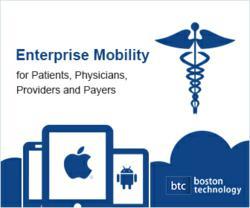 enterprise mobility, healthcare IT, iPhone app development, application developers