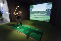 Golf Simulator at COBRA Puma