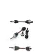 Interparts Rear Axle Shaft Assembly for Yamaha Grizzley ATVs