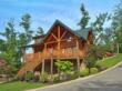 This two story, two bedroom, cabin is built into a slight hill. The first thing guests see when driving up to the cabin is the well manicured landscape surrounding their vacation home. While walking up the staircase to the front door, guests will notice t