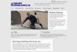 Bob Popp Building Services Website Screenshot