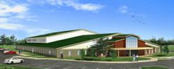 Artist's rendering of the new Zarephath Ministry Center slotted for completion in the fall of 2014.