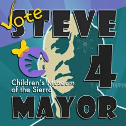Crab Cakes restaurant in Oakhurst, just south of Yosemite National Park, is hosting a special benefit dinner with proceeds going to the Children's Museum of the Sierra via the Steve 4 Mayor honorary Mayor Race Campaign.