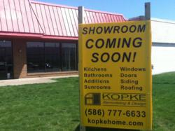 Kopke Remodeling & Design New Showroom Location